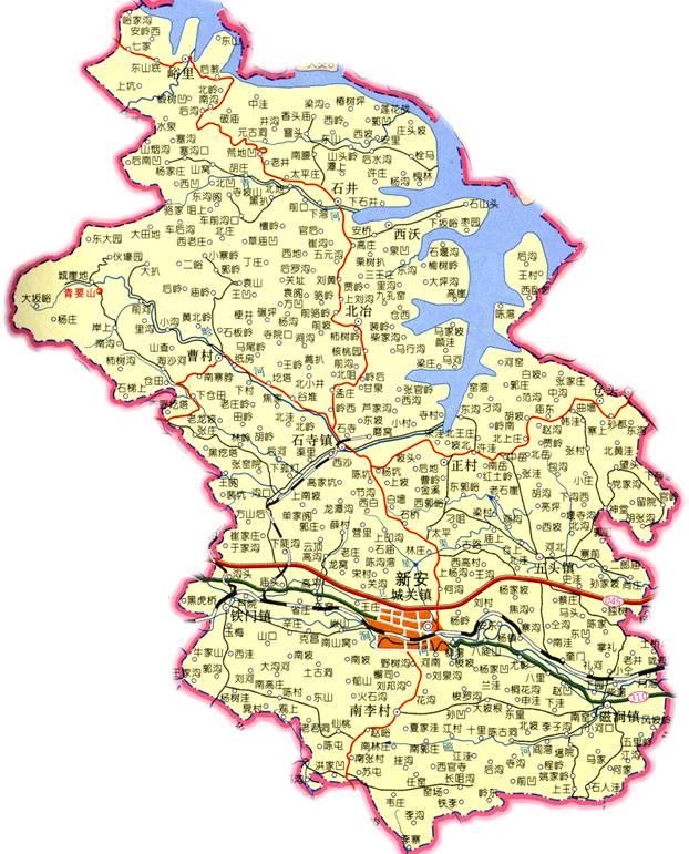 汝州市地图素材